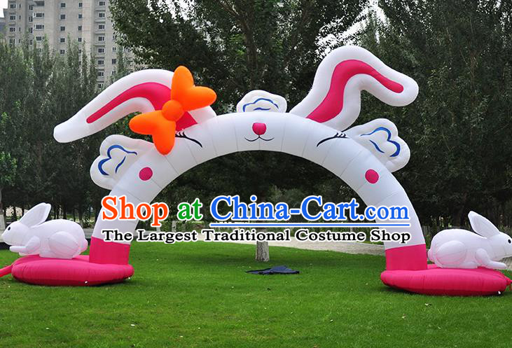 Large Halloween Inflatable Models Inflatable Rabbit Arches Archway