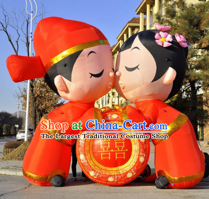 Large Chinese Wedding Inflatable Archway Product Models New Year Inflatable Arches