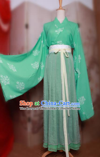 Chinese Traditional Cosplay Jin Dynasty Swordsman Costumes Ancient Scholar Clothing for Men