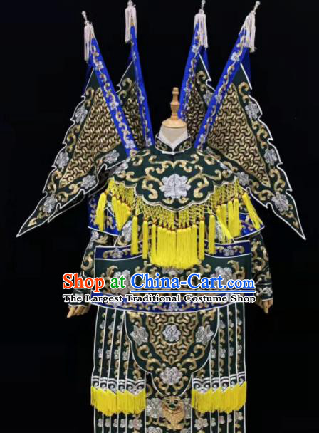 Chinese Traditional Beijing Opera Daomadan Da Kao Peking Opera Female General Costumes for Women