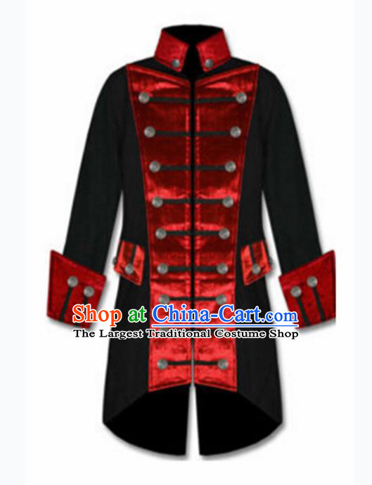 European Medieval Drama Traditional Patrician Costume Europe Prince Coat for Men