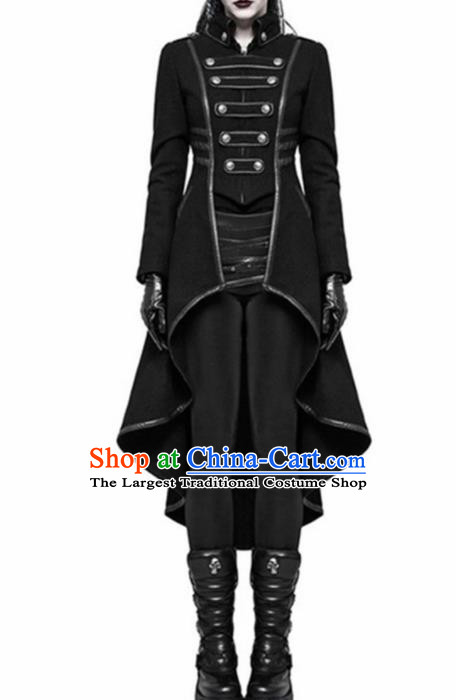 Traditional Europe Renaissance Swallow Tailed Coat Halloween Cosplay Stage Performance Costume for Women