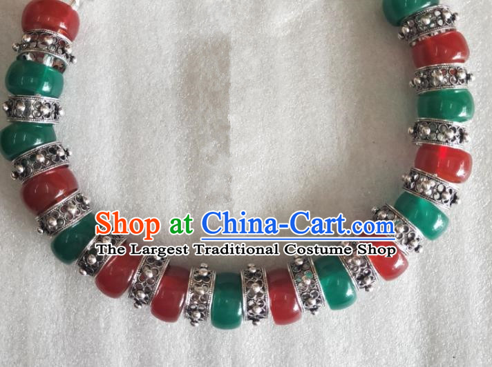 China Dong Ethnic Folk Dance Jewelry Accessories Hmong Minority Female Retro Necklace