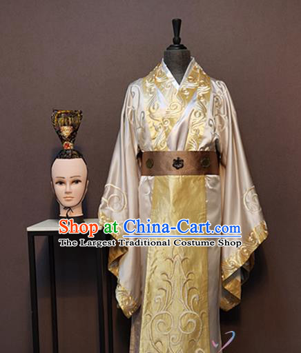 China Drama Ancient Crown Prince Clothing Drama Phoenix Warriors Tang Dynasty Childe Costumes and Headpiece