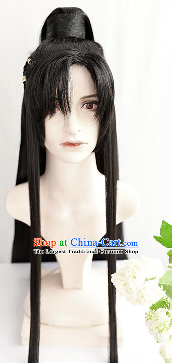 Best Chinese Drama Ancient Knight Swordsman Wig Sheath China Quality Front Lace Wigs Cosplay Taoist Chu Wanning Wig