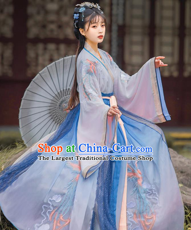 China Ancient Noble Lady Dress Traditional Jin Dynasty Court Princess Historical Costumes Hanfu Apparels