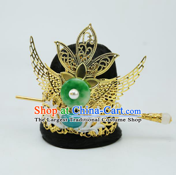 Chinese Ancient Prince Hair Accessories Drama Swordsman Hair Crown for Men