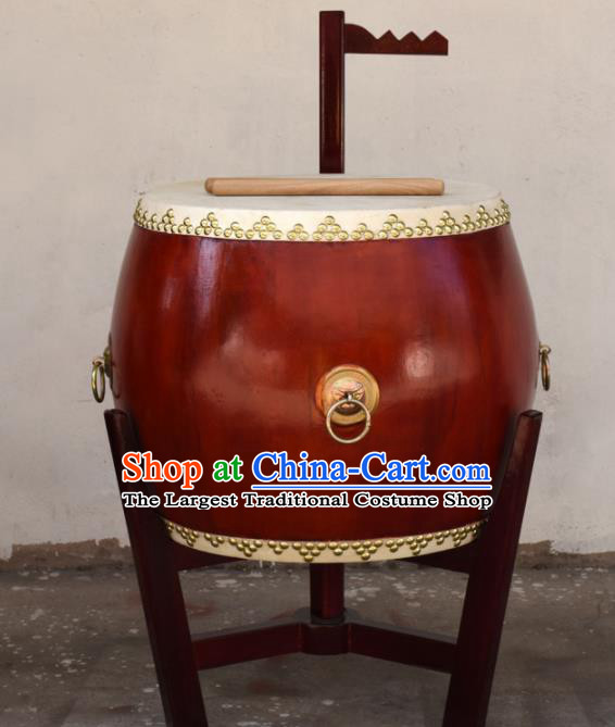 Chinese Traditional Beijing Opera Drum Lion Dance Cowhide Drum