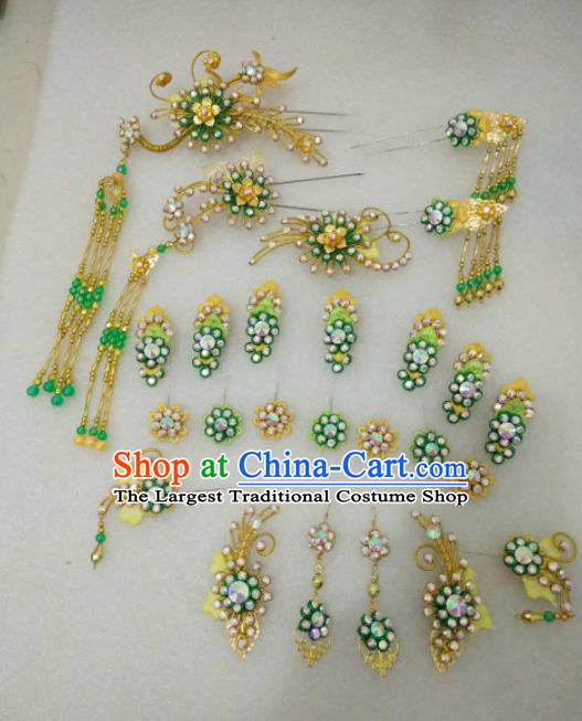Chinese Traditional Peking Opera Hairpins Handmade Beijing Opera Diva Hair Accessories for Women