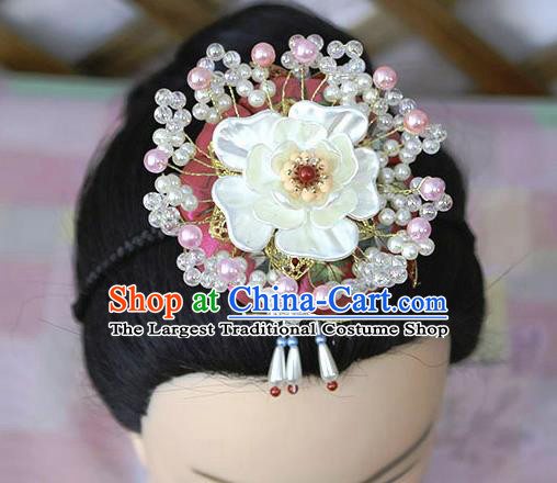 Korean Traditional Court Bride Hairband Asian Korea Fashion Wedding Hair Accessories for Women