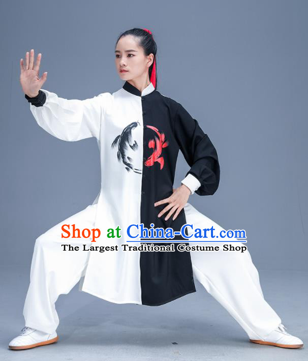 Chinese Traditional Kung Fu Training Garment Outfits Martial Arts Stage Show Costumes for Women