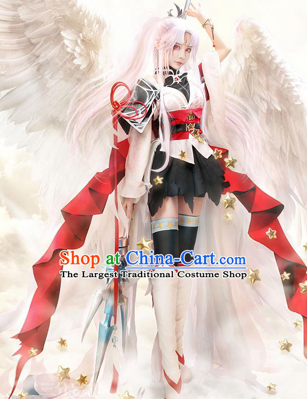 Japanese Traditional Cosplay Crane Dress Japan Onmyoji Costumes for Women