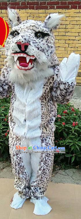 Traditional Chinese New Year Cosplay Leopard Costume Complete Set