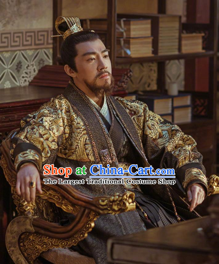 Drama Empress of the Ming Chinese Ancient Ming Dynasty Prince of Han Zhu Gaoxu Replica Costumes for Men