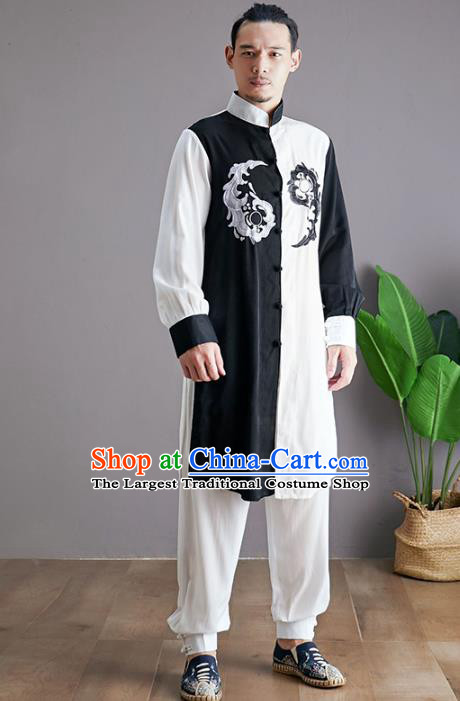 Chinese Martial Arts Outfits Traditional Tai Chi Kung Fu Training Costumes for Men