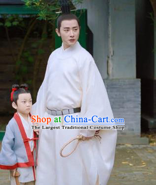 Chinese Ancient Crown Prince Xiao Dingquan Historical Drama Royal Nirvana Song Dynasty Costume for Men