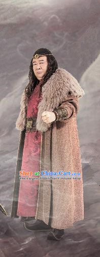 Chinese Ancient Lord Clothing Historical Drama Guardians of The Ancient Oath Costume for Men