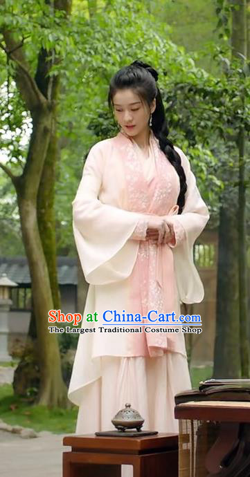 Chinese Ancient Hostess Man Yao Historical Drama Princess Silver Costume and Headpiece for Women