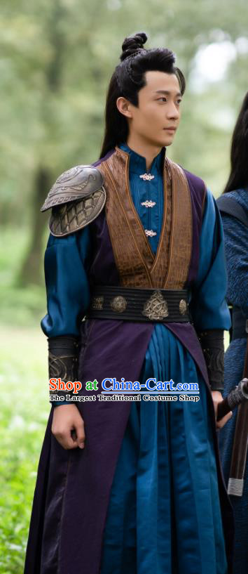 Chinese Ancient Swordsman Clothing Drama The Romance of Hua Rong Prince Jin Yiwen Costumes
