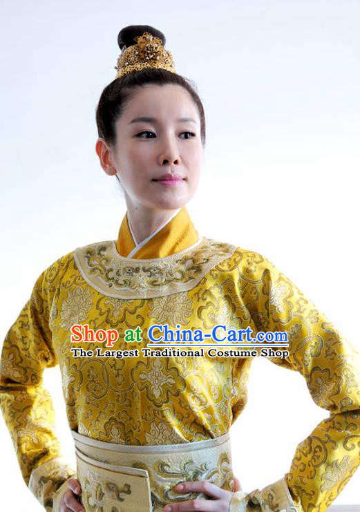 Chinese Ancient Empress Costumes Garment and Headpieces Drama The Empress Queen Dress Apparels