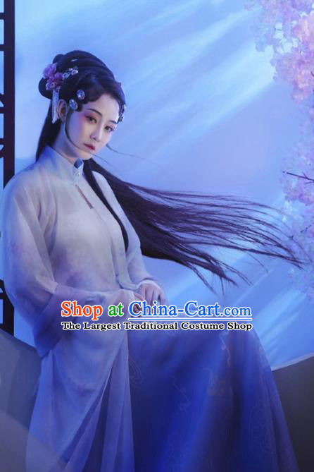 Chinese Traditional Ming Dynasty Apparels Noble Female Historical Costumes Ancient Patrician Lady Hanfu Dress for Women