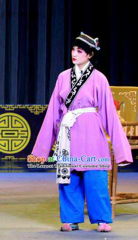 Chinese Sichuan Opera Young Boy Apparels Costumes and Headpieces Peking Opera Highlights Livehand Garment Clothing