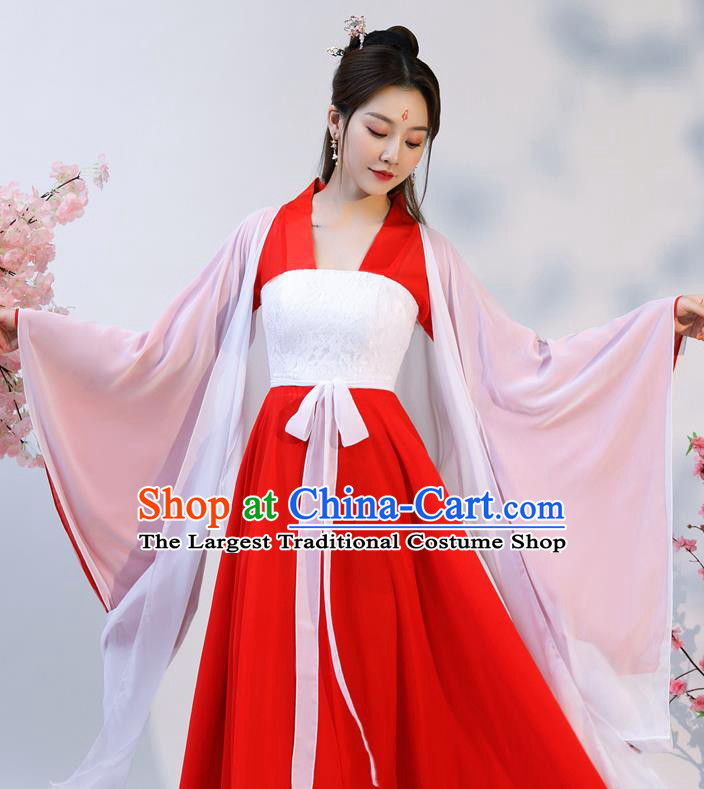 Chinese Ancient Drama Noble Infanta Hanfu Dress Apparels Traditional Song Dynasty Patrician Lady Historical Costumes