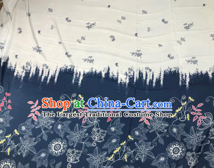 Chinese Hanfu Dress Traditional Pattern Design Satin Fabric Silk Material Traditional Asian Tapestry