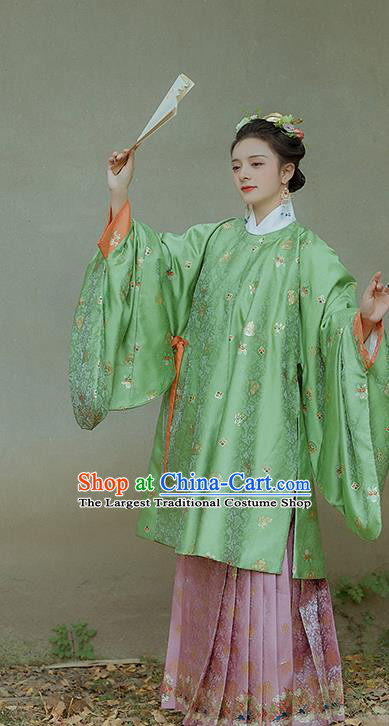 China Ancient Imperial Consort Costumes Traditional Hanfu Dress Ming Dynasty Royal Woman Historical Clothing